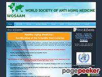 WOSAAM-World Society of Antiaging Medicine Certification Course AntiAging Medicine,Nutritional Medicine