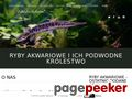 Podwodne Królestwo Ryb Akwariowych