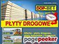 Szczegóły : Płyty Drogowe - Dop-Bet z Olsztyna