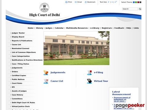 Delhi High Court Recruitment of Jr. Judicial Assistant Technical