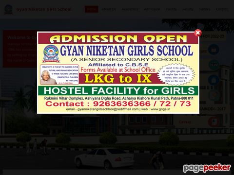 Various Job in Gyan Niketan Girls School, Patna �� Details and Application Format? What is the last date? Selection Criteria? Application Fee? How to Apply?