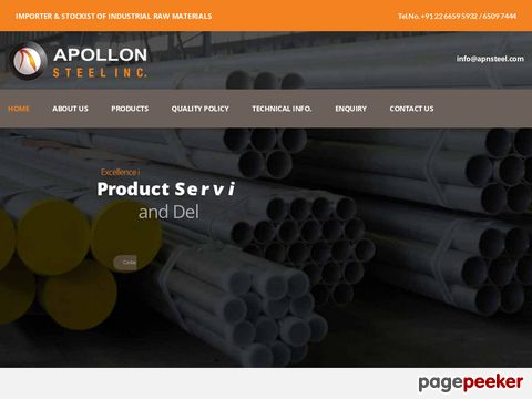 APOLLON STEEL INC.