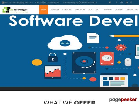 CAS TECHNOLOGIES INC.