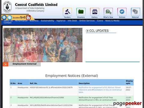 Recruitment of Jr. Overman Vacancy in Central Coalfields 2020