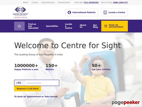 Centre For Sight, Sanjay Place