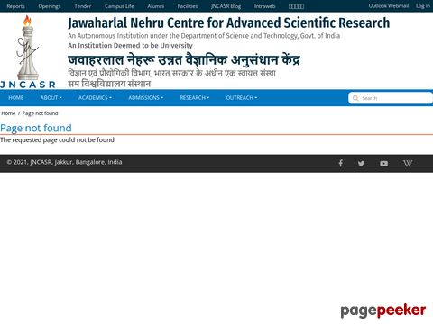 Jawaharlal Nehru Centre for Advanced Scientific Research invites applications for its Summer Research Fellowship Programme 2019, �� Details and Application Format? What is the last date? Selection Criteria? Application Fee? How to Apply? educratsweb.com