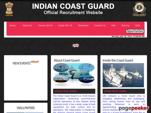 Yantrik  Recruitment 02/2019 Batch in Coast Guard