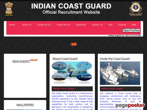 Yantrik  Recruitment 01/2020 Batch in Coast Guard