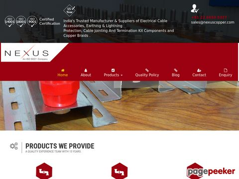 Nexus Copper Pvt Ltd