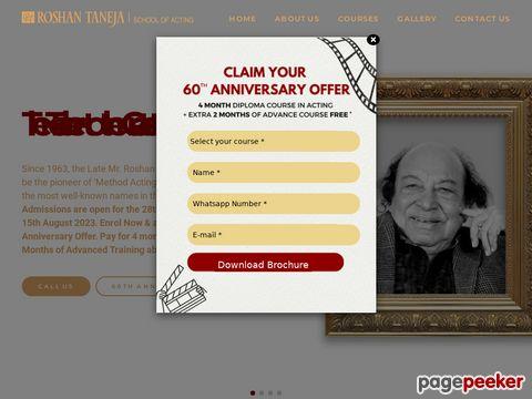 Roshan Taneja School of Acting