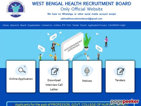 Recruitment of 9333 Staff Nurse Vacancy by West Bengal Health Recruitment Board (WBHRB), Kolkata 2020