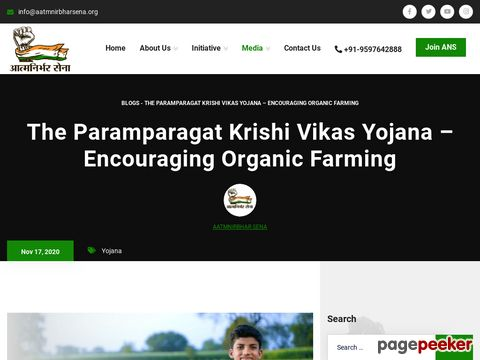 The Paramparagat Krishi Vikas Yojana – Encouraging Organic Farming