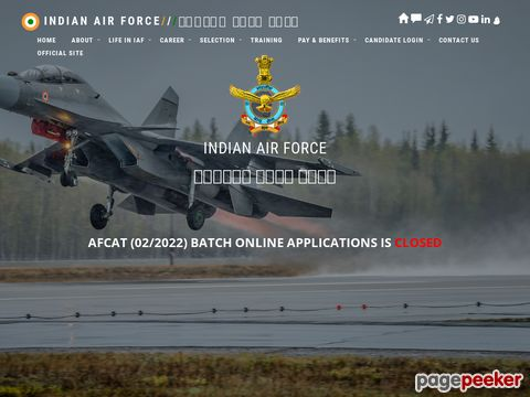 Indian Air Force AFCAT 02/2020 for Officer vacancy