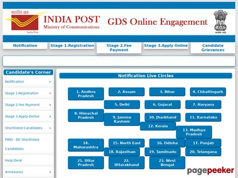India Post GDS Recruitment 2020-21 for Gujarat and Karnataka States �� Details and Application Format? What is the last date? Selection Criteria? Application Fee? How to Apply? educratsweb.com