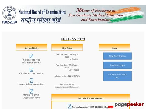 NEET Super Specialty 2020: Examination date announced; Application process begins — check full schedule here