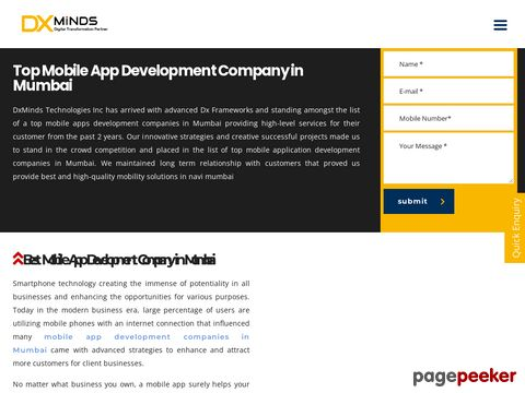 Top Mobile App Development Company in Mumbai