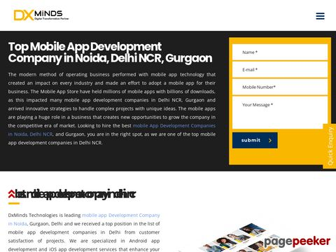 DxMinds-Mobile App Development Company