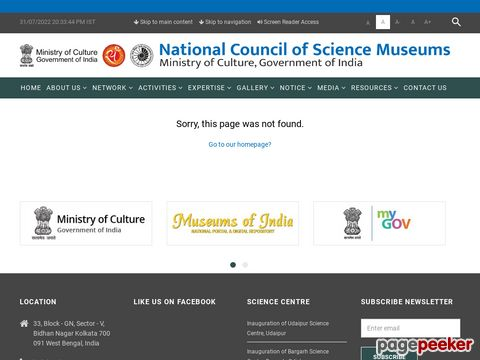 Administrative and Scientific Vacancy in National Council of Science Museums (NCSM) Kolkata 2020