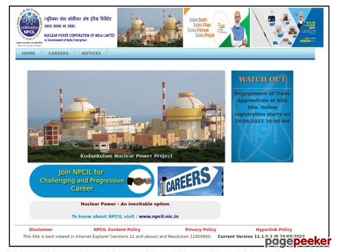 NPCIL Recruitment of Stipendiary Trainees/Scientific Assistant-B at TAPS Site