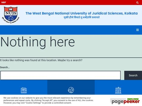 Recruitment of Faculty and Officer Vacancy in West Bengal National University of Juridical Sciences (WBNUJS), Kolkata
