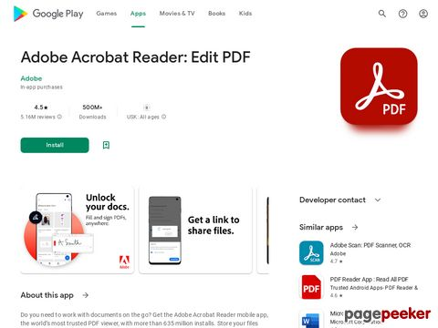 Adobe Acrobat Reader: PDF Viewer, Editor & Creator Adobe