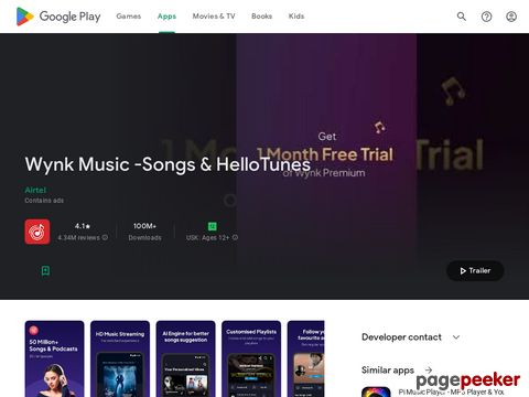 Wynk Music - Download & Play Songs & MP3 for Free Airtel