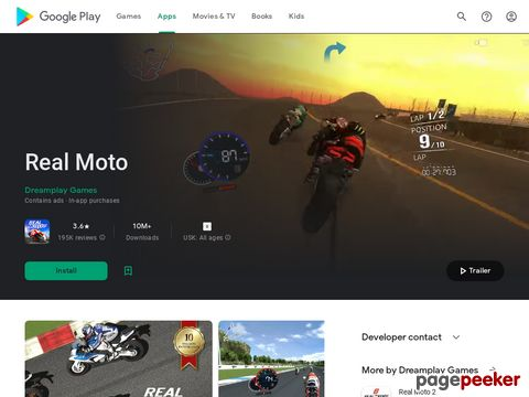 Real Moto Dreamplay Games