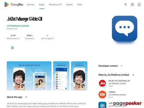 JioChat: HD Video Call Reliance Corporate IT Park