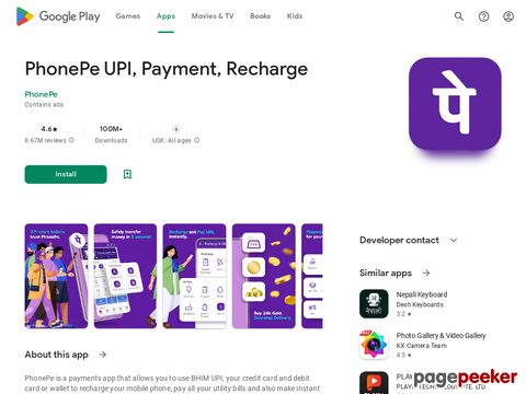 PhonePe – UPI Payments, Recharges & Money Transfer PhonePe