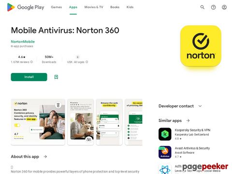 Norton Mobile Security and Antivirus NortonMobile