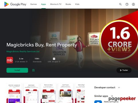 Magicbricks Property Search & Real Estate App MagicBricks Reality Services Ltd