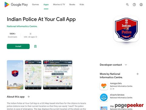 Indian Police At Your Call App