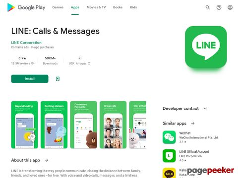 LINE: Free Calls & Messages LINE Corporation