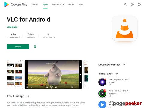 VLC for Android Videolabs
