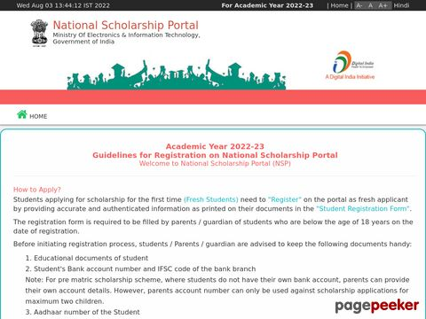 Apply for Pre Matric Scholarships Scheme for Minorities 2019-20