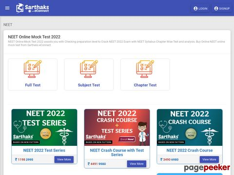 Free neet online mock test helps to get desriable rank