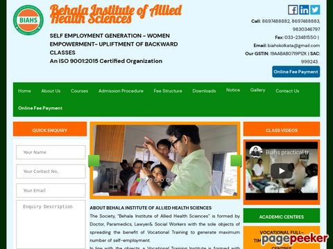 Behala Institute of Allied Health Sciences