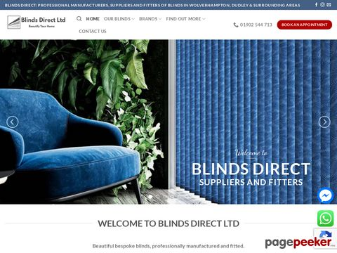 Blinds Direct Ltd | Roller Blinds | Roman And Wooden Blinds