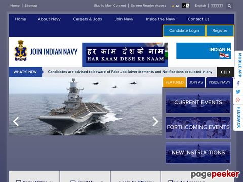 Recruitment of Chargeman Vacancy in Indian Navy