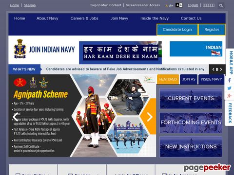 Navy Sailors SSR 2500 vacancy August 2019 entry
