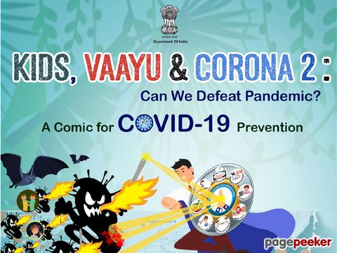 KIDS, VAAYU & CORONA : Comic book for children to provide correct information about COVID-19 - Part 2