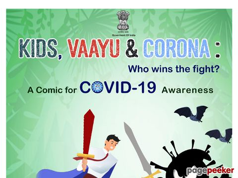 KIDS, VAAYU & CORONA : Comic book for children to provide correct information about COVID-19