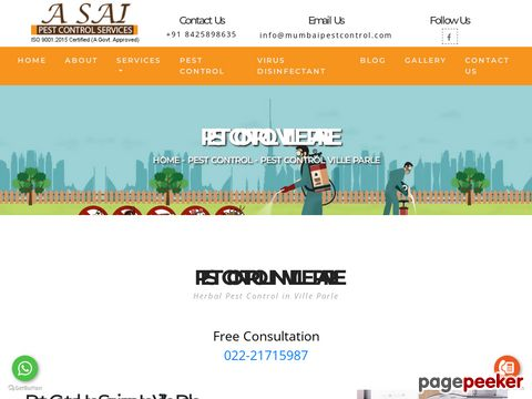 Pest control in ville parle