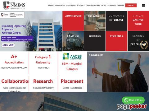 NMIMS INVITES LEADERS TO JOIN ITS ACADEMIC COMMUNITY