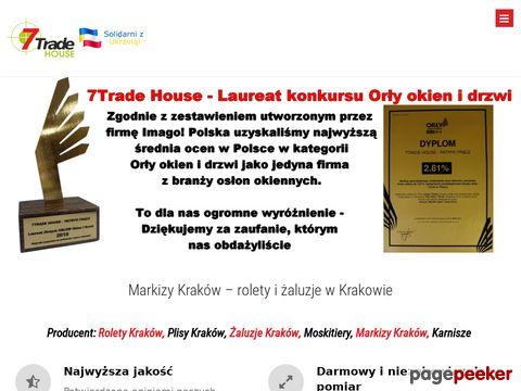 7trade house rolety Kraków