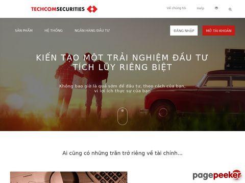 Đánh giá tcbs.com.vn