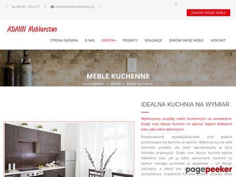 adannmeblarstwo.pl/meble-kuchenne.html