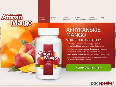 African Mango na odchudzanie