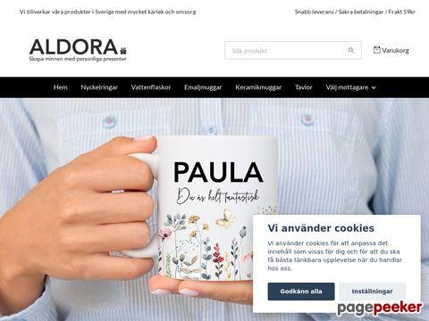 Smycken online och accessoarer från Aldora