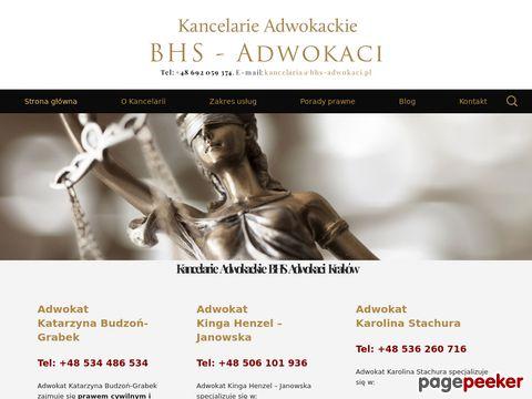 KANCELARIA ADWOKACKA Adwokat Karolina Stachura